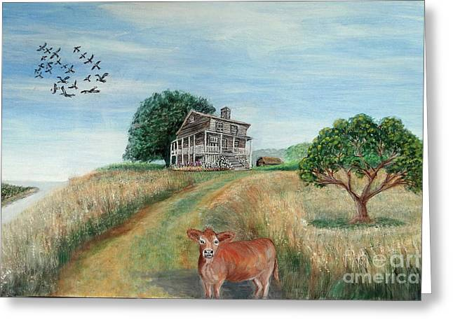 Mount Hope Plantation Greeting Card