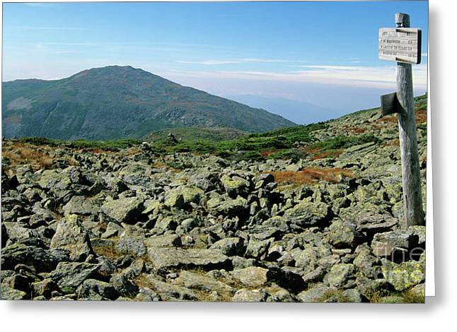 Mount Jefferson - White Mountains New Hampshire  Greeting Card