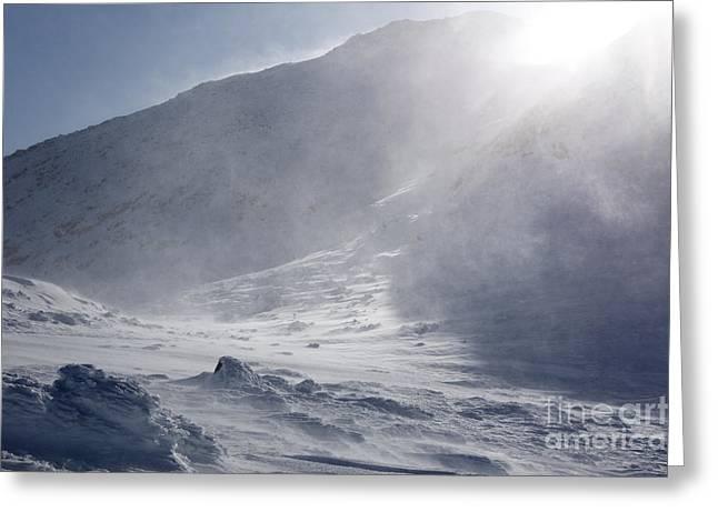 Mount John Quincy Adams - White Mountains Nh Greeting Card by Erin Paul Donovan