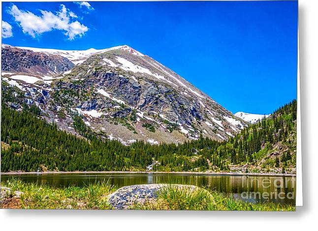 Mount Lincoln Greeting Card