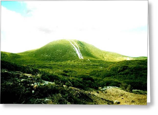 Mount Lyall Tasmania Greeting Card by Bethwyn Mills