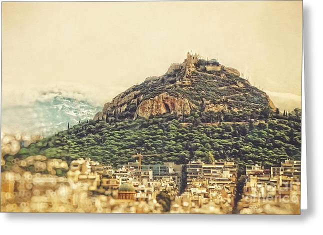 Mount Lycabettus Greeting Card