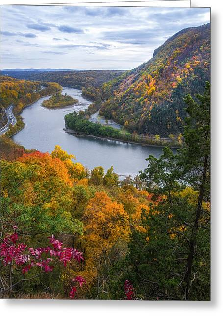 Greeting Card featuring the photograph Mount Minsi 2 by Mark Papke