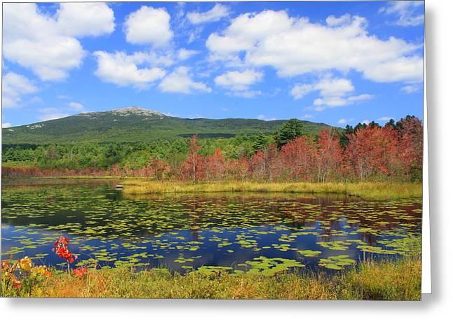 Mount Monadnock Early Foliage Greeting Card