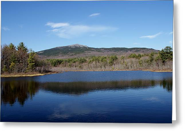 Mount Monadnock Greeting Card by Lois Lepisto