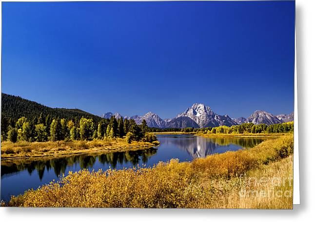 Mount Moran Greeting Card