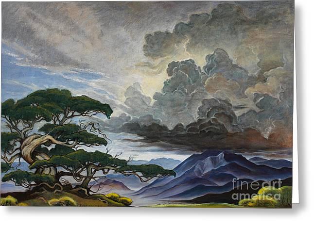 Mount Nebo Greeting Card