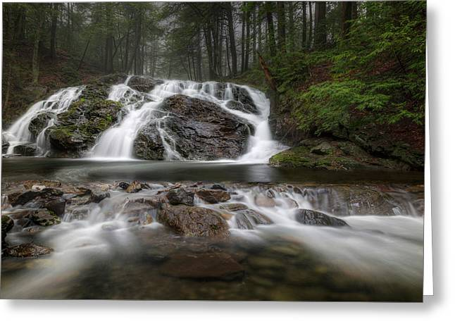Mount Riga Falls Greeting Card by Bill Wakeley