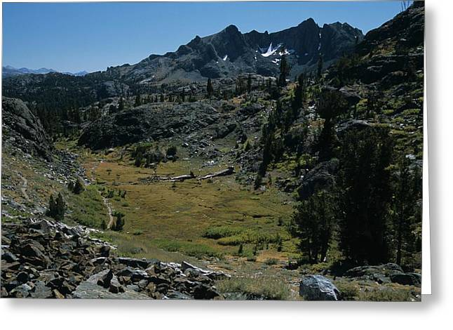 Mount Ritter And Meadow Greeting Card