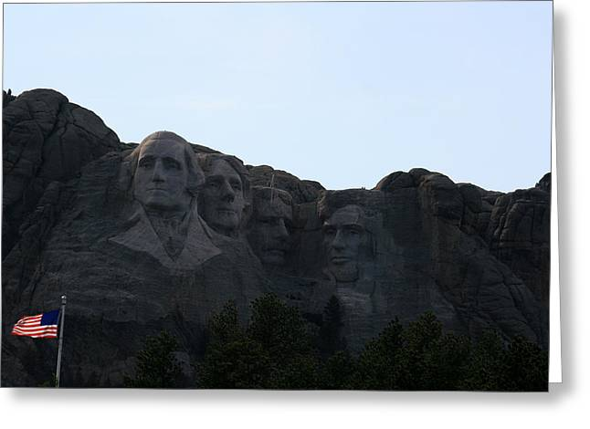 Mount Rushmore Greeting Card by George Jones