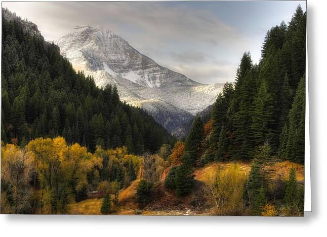 Mount Timpanogos 2 Greeting Card by Douglas Pulsipher