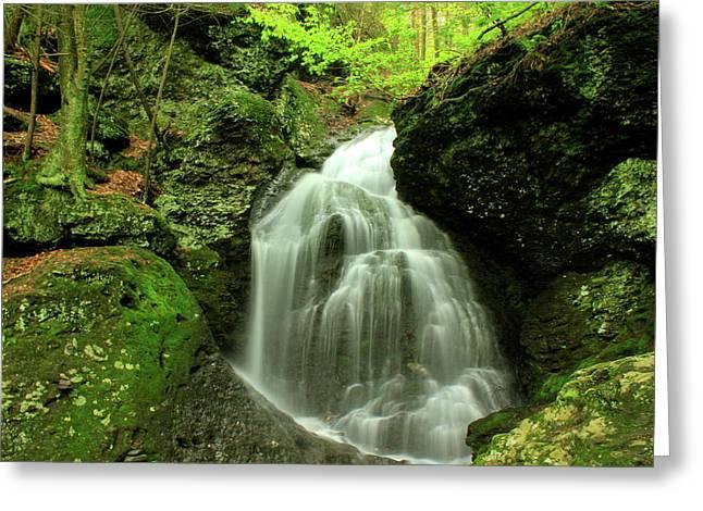 Mount Toby Roaring Falls Greeting Card