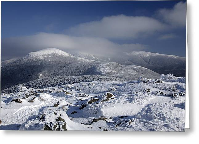 Mount Washington - New Hampshire Usa Greeting Card