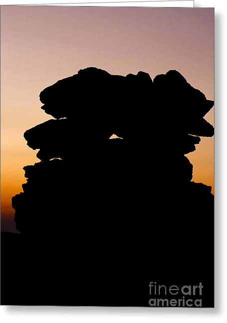 Mount Washington - New Hampshire Usa Sunset Greeting Card by Erin Paul Donovan