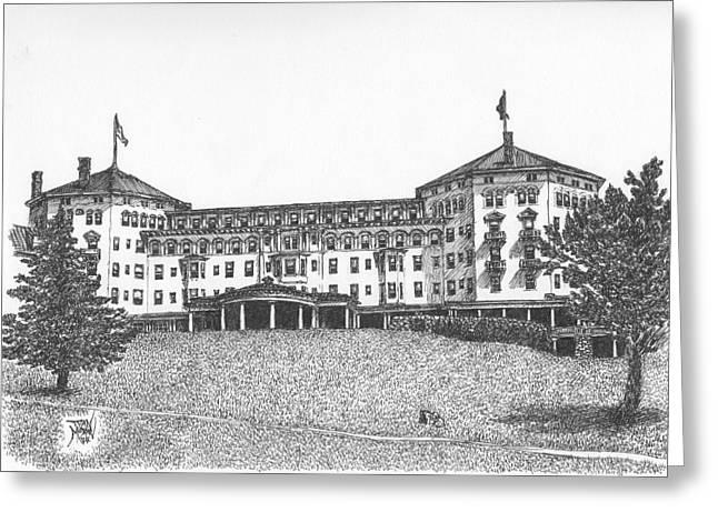 Mount Washington Hotel Number Three Greeting Card