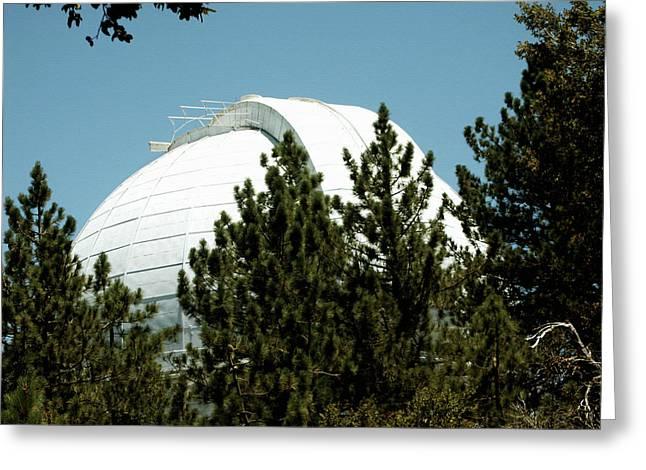 Mount Wilson Hooker Telescope Greeting Card