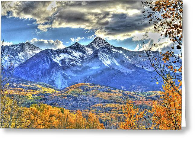 Western Western Photographs Greeting Cards - Mount Wilson Greeting Card by Scott Mahon