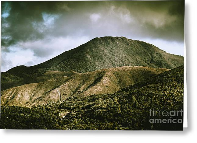 Mount Zeehan Tasmania Greeting Card