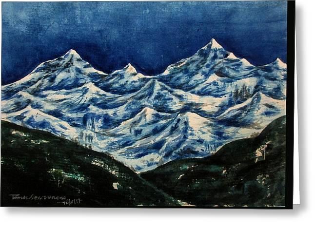 Mountain-2 Greeting Card