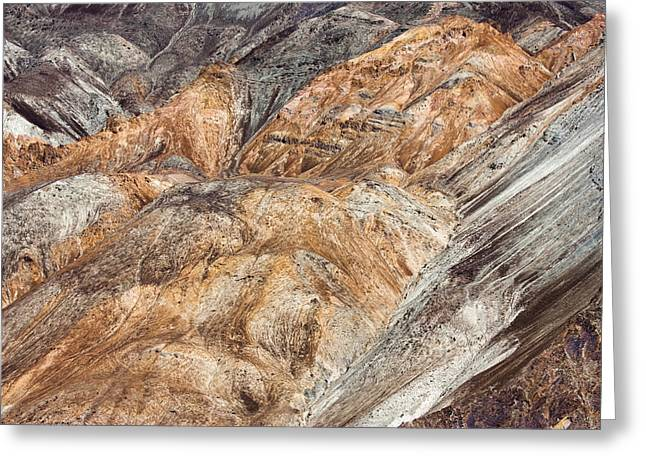 Mountain Abstract 7 Greeting Card by Hitendra SINKAR