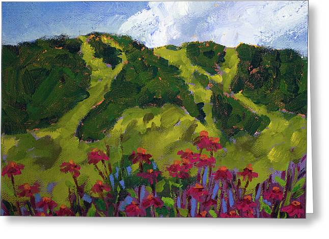 Mountain Blooms Greeting Card