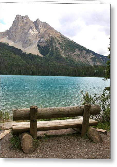 Mountain Calm Greeting Card