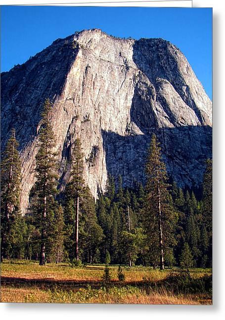 Mountain Cathedral - Yosemite Greeting Card