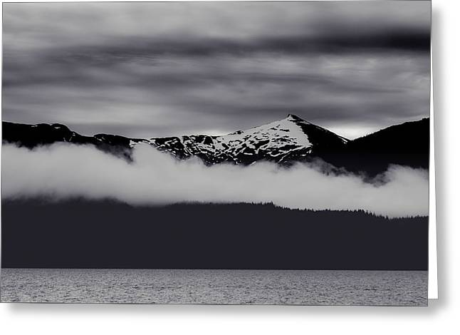 Mountain Contrast Greeting Card