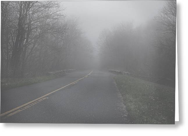 Greeting Card featuring the photograph Mountain Fog by Joseph G Holland