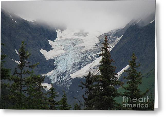 Mountain Glacier Greeting Card