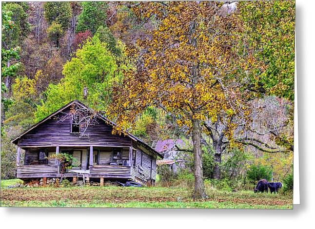 Mountain Home Arkansas Greeting Card by JC Findley