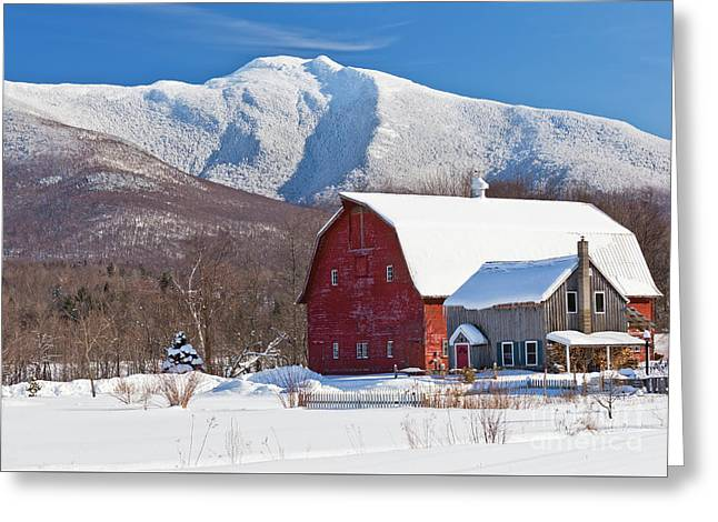 Mountain Homestead Greeting Card