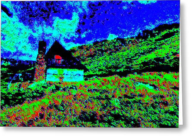 Mountain House Dd3 Greeting Card by Modified Image