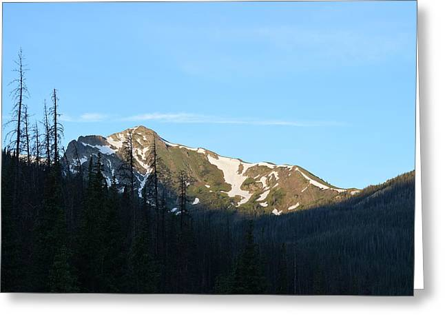 Mountain In Rocky Mountian Np Co Greeting Card
