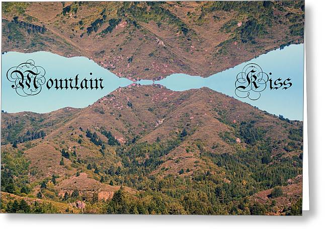 Mountain Kiss  Greeting Card by Ben Upham III