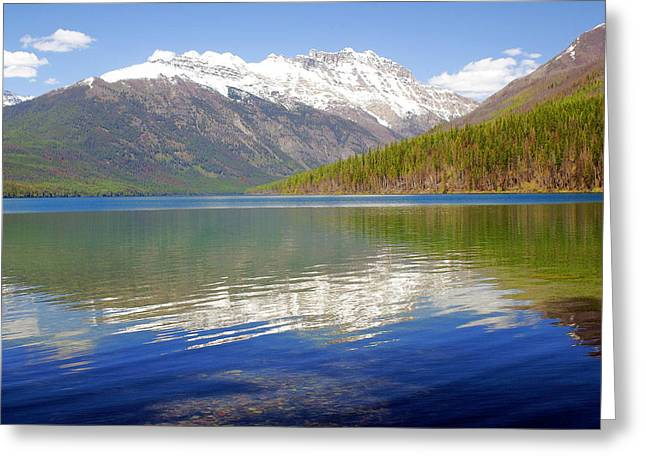 Mountain Lake 4 Greeting Card by Marty Koch