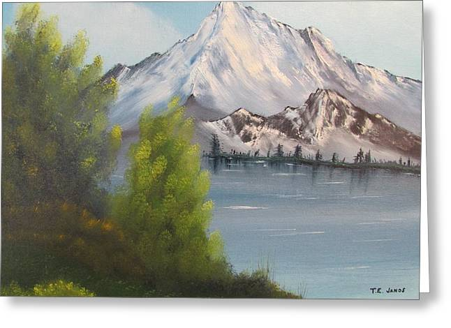 Mountain Lake Greeting Card