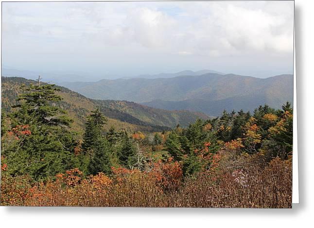Mountain Long View Greeting Card