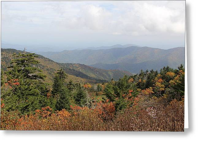 Mountain Long View Greeting Card
