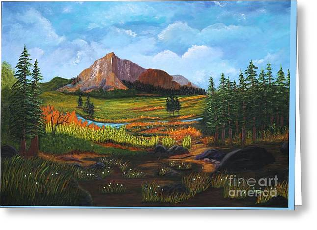 Mountain Meadows Greeting Card