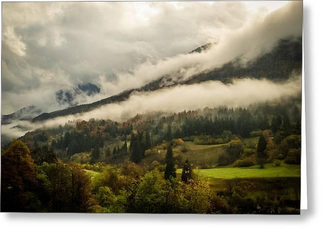 Mountain Mist Greeting Card