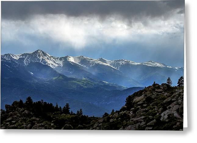 Mountain Moodiness Greeting Card
