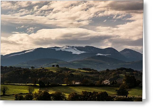Mountain Of France Greeting Card