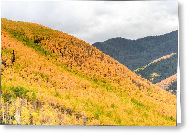 Mountain On Fire Greeting Card by Gigi Embrechts