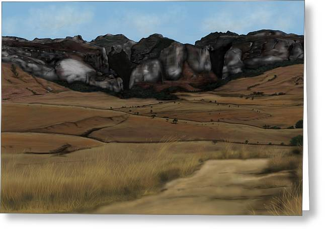 Mountain Plains Greeting Card