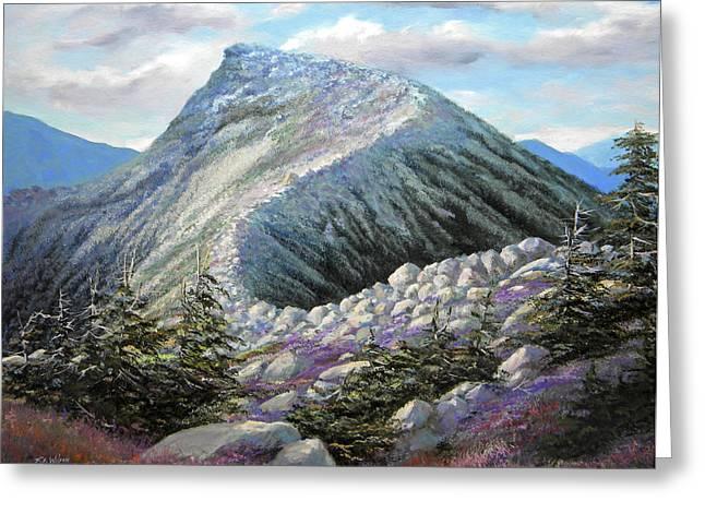 Mountain Ridge Greeting Card