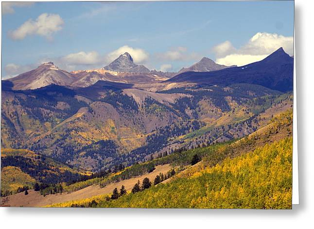 Mountain Splendor 2 Greeting Card by Marty Koch