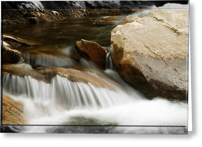 Mountain Stream B Greeting Card by Robert Clayton