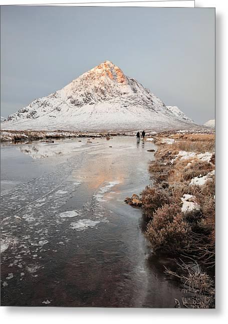 Mountain Sunrise Glencoe Greeting Card