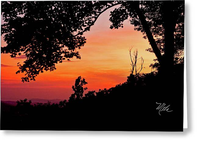 Greeting Card featuring the photograph Mountain Sunrise by Meta Gatschenberger
